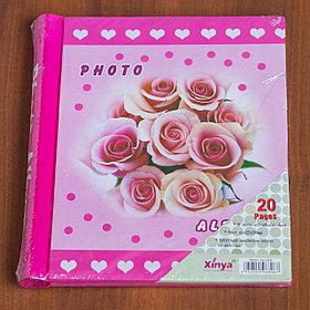Фотоальбом магнитный 23х28 см, 20 страниц