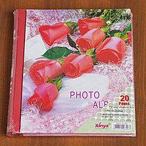 Фотоальбом магнитный 23х28 см, 20 страниц, фото 3
