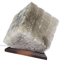 """Соляной светильник """"Куб"""", цельный кристалл, 9-10 кг"""