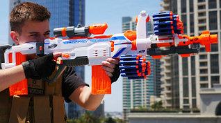 NERF игрушечное оружие бластеры, пистолеты, автоматы