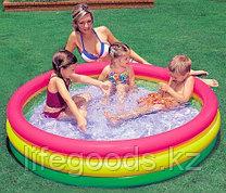 """Детский надувной бассейн """"Радуга"""" 147х33 см, Intex 57422"""