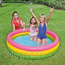 """Детский надувной бассейн """"Радуга"""" 147х33 см, Intex 57422, фото 2"""