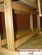 Верстак столярный деревянный 1500*500мм, с двумя тисками, без лотка, фото 5