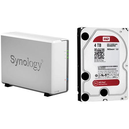 Домашний медиа сервер Synology DiskStation DS115j + 4 Tb жестким диском, фото 2