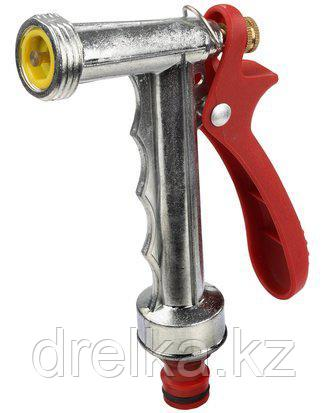 Пистолет распылитель для полива GRINDA 8-427307_z01, CLASSIC Quick-Connection System, металлический , фото 2