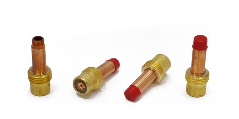 Держатель цанги с газовой линзой (GasLens) для аргонодуговой горелки TIG17-18-26