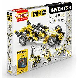 Engino Конструктор Inventor с моторчиком 120 моделей, Энджино