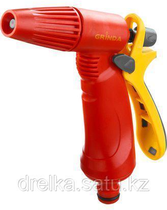 Пистолет распылитель для полива GRINDA 8-427361_z02, пластиковый, тип пистолетный, регулируемое сопло