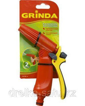 Пистолет распылитель для полива GRINDA 8-427361_z02, пластиковый, тип пистолетный, регулируемое сопло, фото 2
