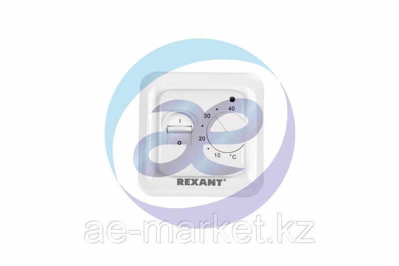 Терморегулятор механический с датчиком температуры пола (R70XT) REXANT