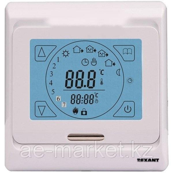 Терморегулятор сенсорный с автоматическим программированием (R91XT) REXANT