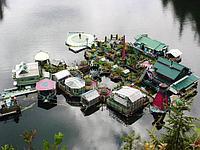 Дом - остров из контейнеров!