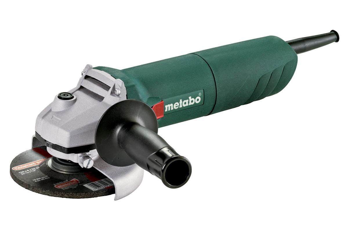 Metabo W 1100-125 УШМ 1100вт,125мм,коробка