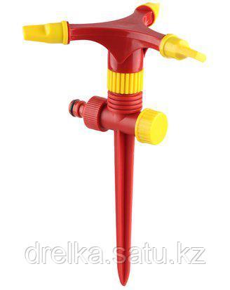 Распылитель для полива GRINDA 8-427610_z01, CLASSIC Quick-Connection System, круговой, регулируемый, на пике, фото 2