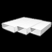 Воздуховод ЭРА ВП 612 1,5м прямоугольный ПВХ