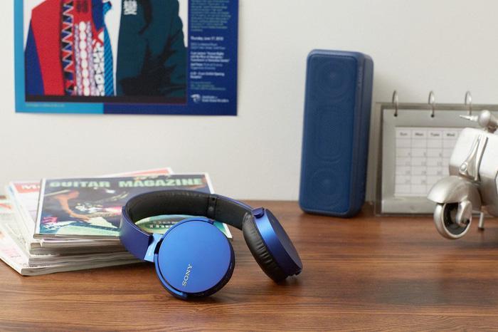 Беспроводные Bluetooth наушники Sony Extra Bass