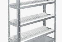Стеллажи из нержавеющей стали для сушки посуды