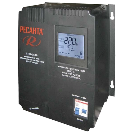Стабилизатор напряжения Ресанта АСН 2500 СПН, фото 2