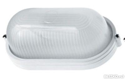 Светильник НПП 1401-60 белый/овал