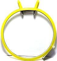 Пяльцы Nurge вышивальные металлические 20 см Желтые