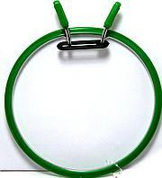 Пяльцы Nurge вышивальные металлические 20 см Зеленые