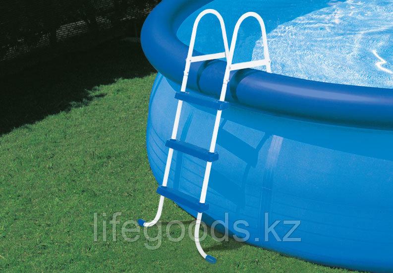 Лестница для бассейна высотой борта от 76 см до 91 см, Intex 28060 - фото 4