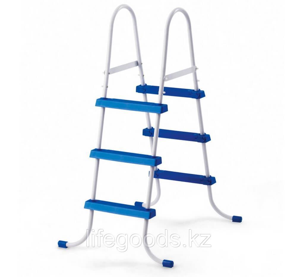 Лестница для бассейна высотой борта от 76 см до 91 см, Intex 28060 - фото 5