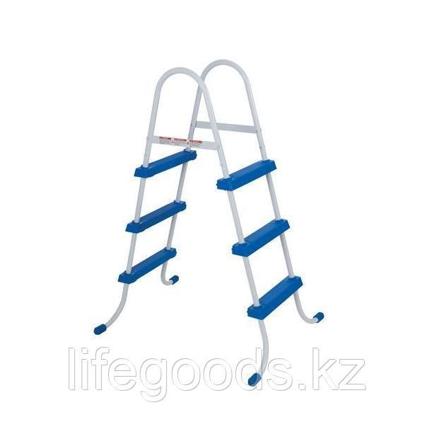 Лестница для бассейна высотой борта от 76 см до 91 см, Intex 28060 - фото 6