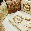 Постельный комплект для круглой и овальной кровати