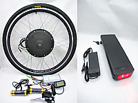 Полный набор на 500Вт 48В для переделки в электровелосипед, фото 1
