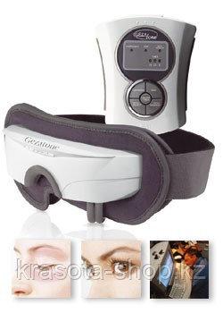 Массажер для глаз с тепловой и вибромассажной функцией,BEM-III,Gezatone