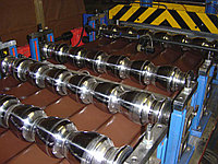 Производство металлочерепицы, фото 1