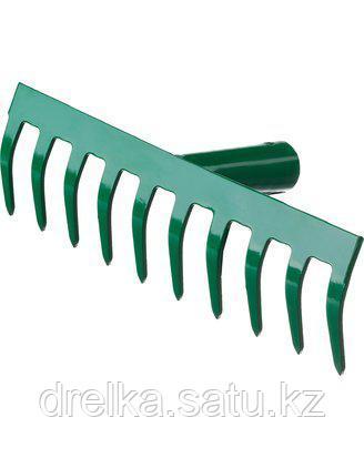 Грабли прямые РОСТОК 39610-10_z01, 10 зубцов , фото 2