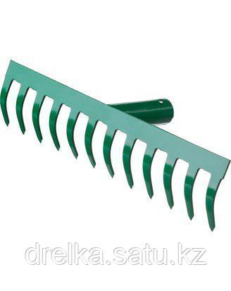 Грабли прямые РОСТОК 39610-12_z01, 12 зубцов , фото 2