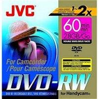 Диск DVD-RW 8cm JVC 60 min  2,8gb