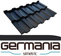 Модульная металлочерепица Germania Simetric