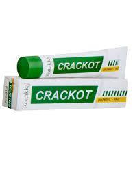 """Крекот: заживляющая мазь от трещин, 25 г, производитель """"Коттаккал Аюрведа"""", Crackot Ointment 25 g, Kottakkal"""