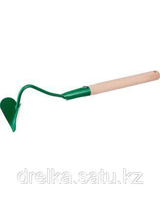 Бороздовичок РОСТОК с деревянной ручкой, ширина рабочей части - 65мм
