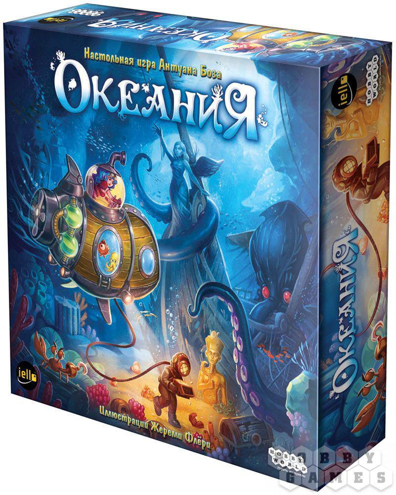 Настольная игра: Океания