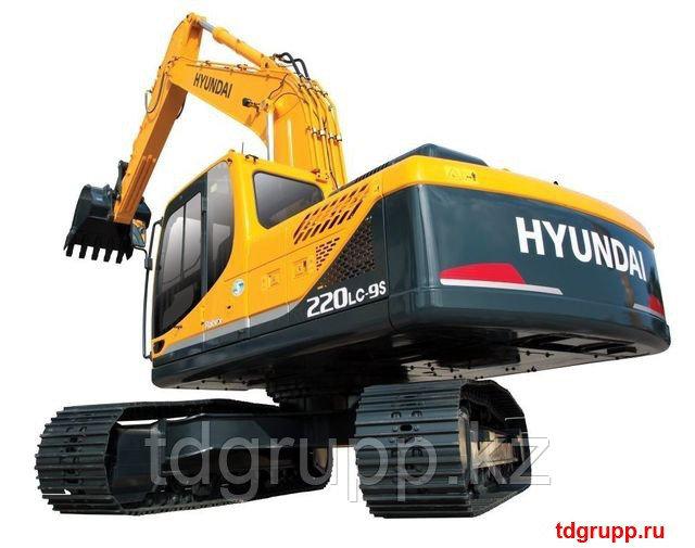 Запчасти на экскаватор Hyundai (Хундай) R220LC-9S