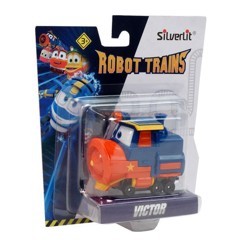 Роботы-поезда, Металлический паровозик Виктор