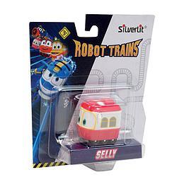 Роботы-поезда, Металлический паровозик Сэлли