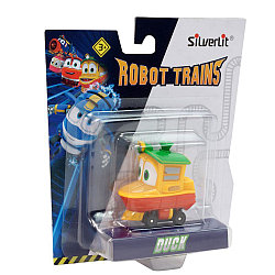 Роботы-поезда, Металлический паровозик Утенок