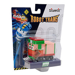 Роботы-поезда, Металлический паровозик Вито