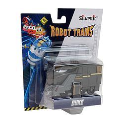 Роботы-поезда, Металлический паровозик Дюк
