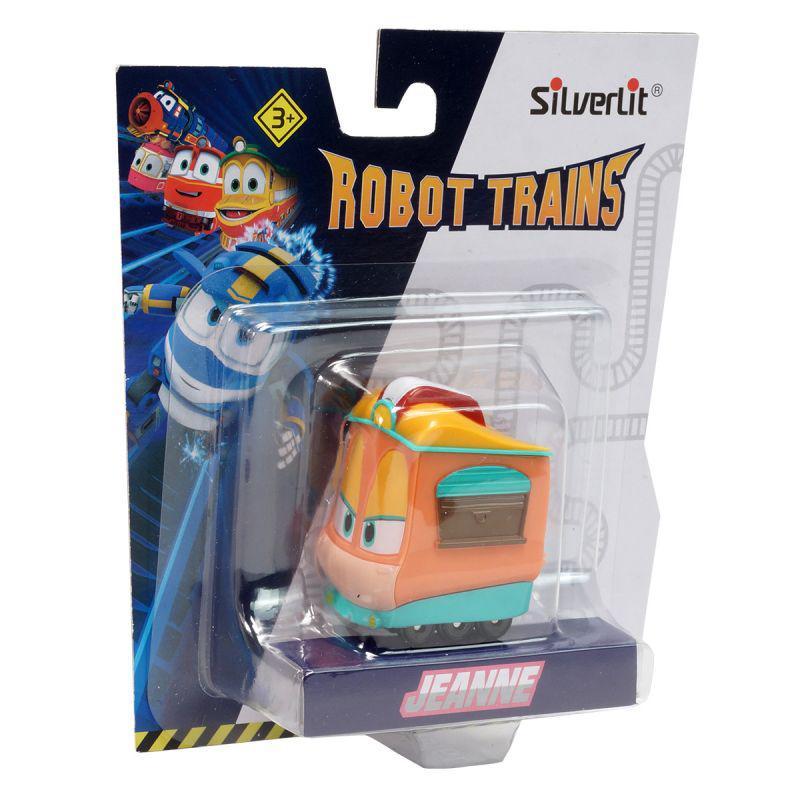 Роботы-поезда, Металлический паровозик Джейни