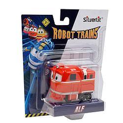 Роботы-поезда, Металлический паровозик Альф