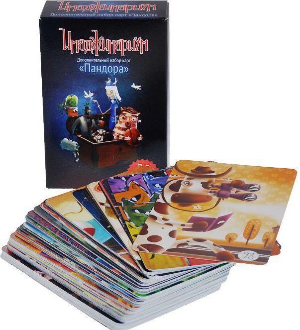"""Дополнительный набор карт для игры """"Имаджинариум"""" - Пандора, 98 карточек"""