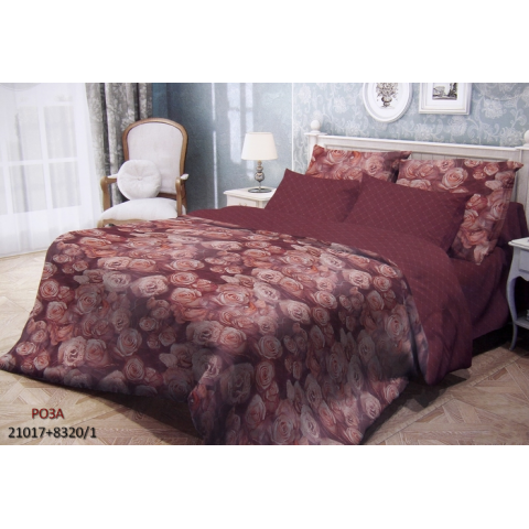 Комплект постельного белья, Роза