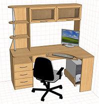 Компьютерные столы на заказ, качестевенно, фото 3